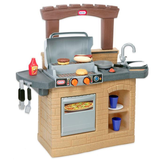 Little Tikes® Cook 'n Play Outdoor BBQ™ | Outdoor bbq ...