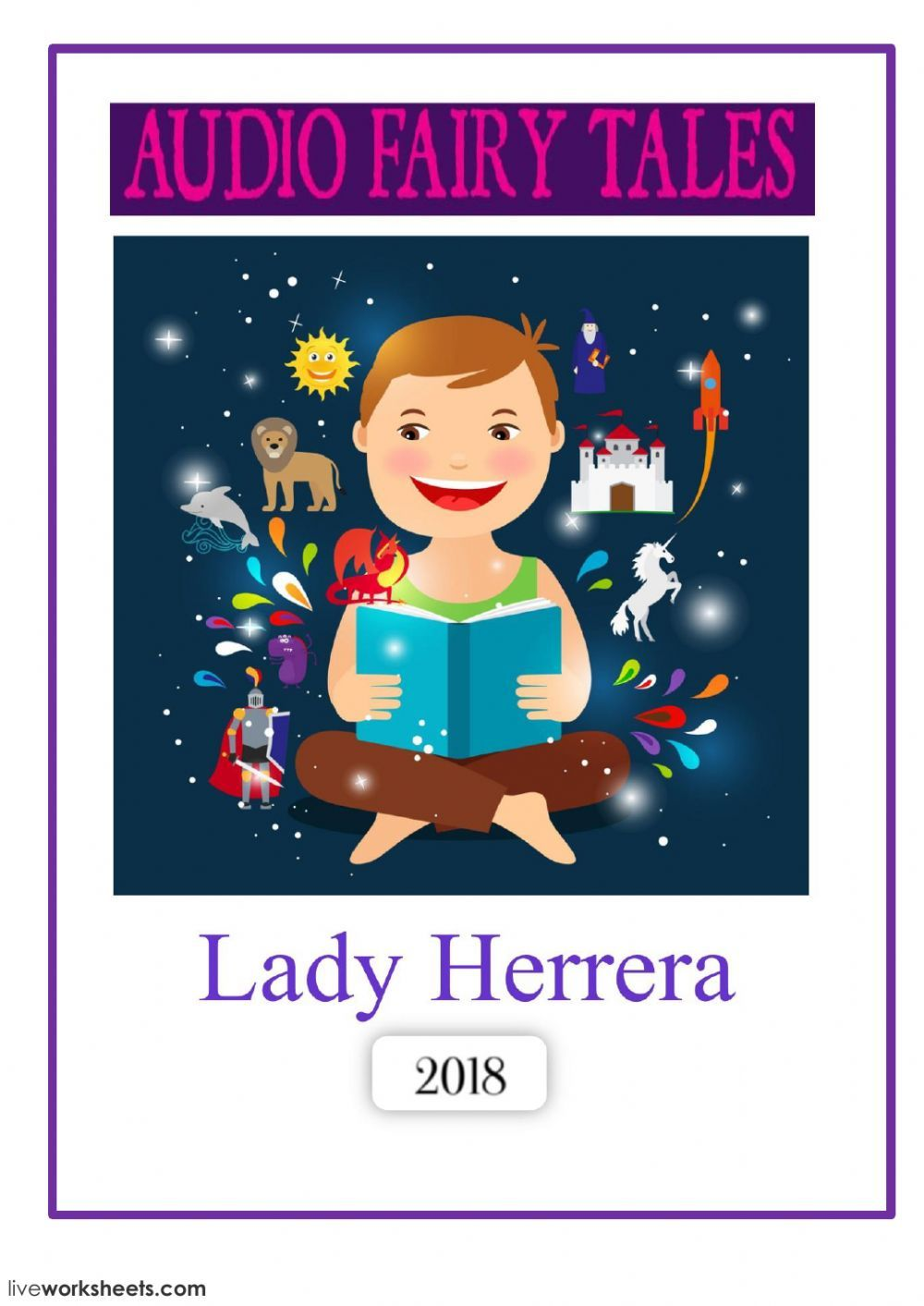 Fairy tales interactive and downloadable worksheet you