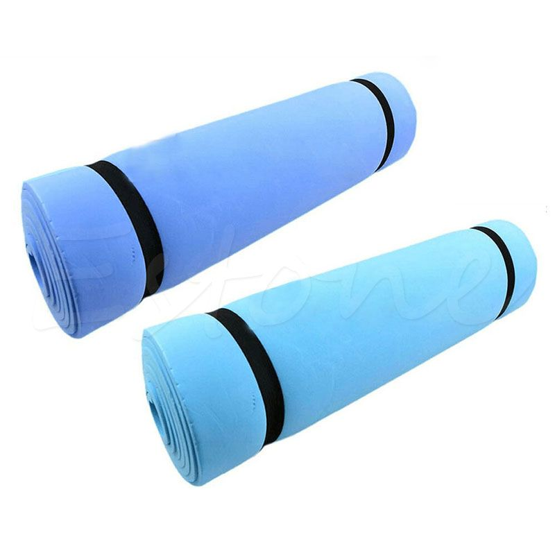 1pc New Eco Friendly Foam Eva Dampproof Mat Exercise Yoga Pad Sleeping Mattress Fitness Body Building High Quality Mat Exercises Yoga Pad Workout Pad