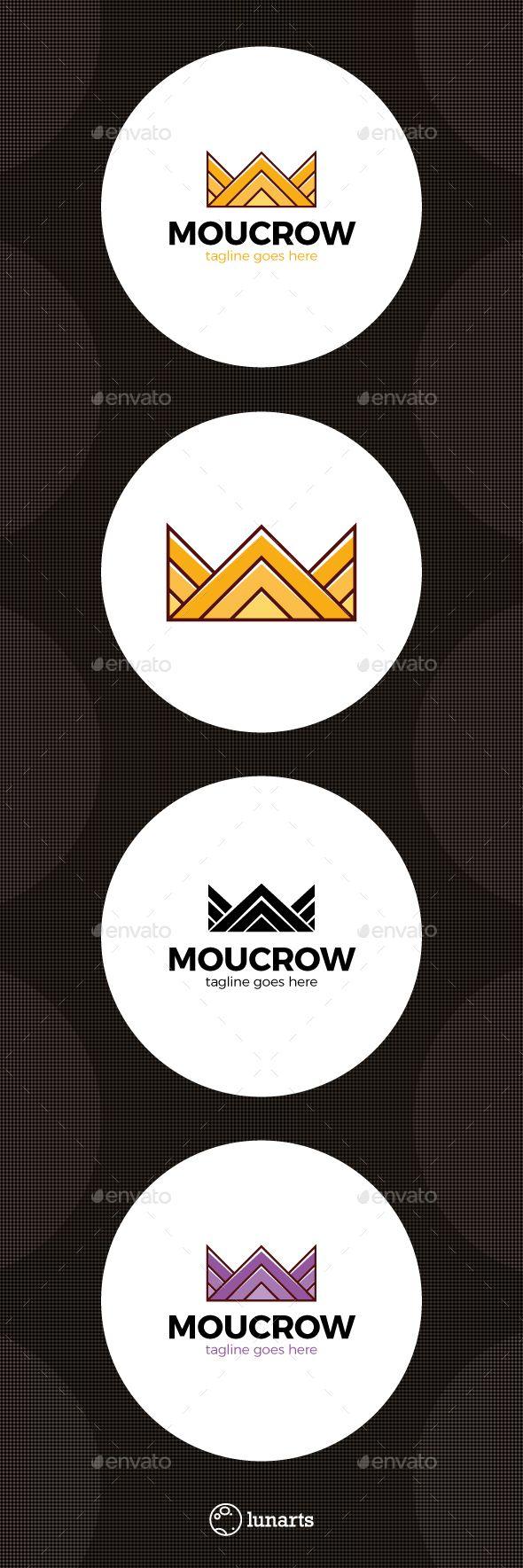 Mountain Crown  Logo Design Template Vector #logotype Download it here: http://graphicriver.net/item/mountain-crown-logo/15208225?s_rank=95?ref=nexion