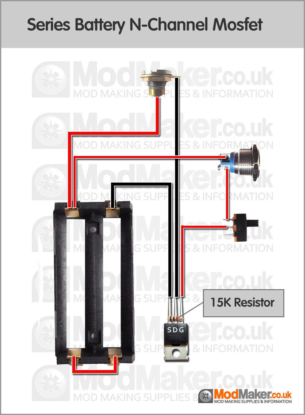 series battery n channel mosfet wiring diagram vaporized raptor box mods vape box mod wiring diagram [ 1000 x 1357 Pixel ]