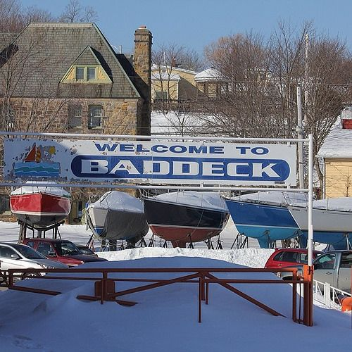 Welcome to Baddeck #capebreton #novascotia Not great weather for sailing right now. :)