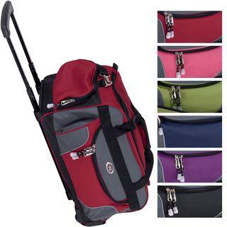 CalPak Champ 21-inch Carry On Rolling Upright Duffel Bag   HOUSING ... 4f8590948d