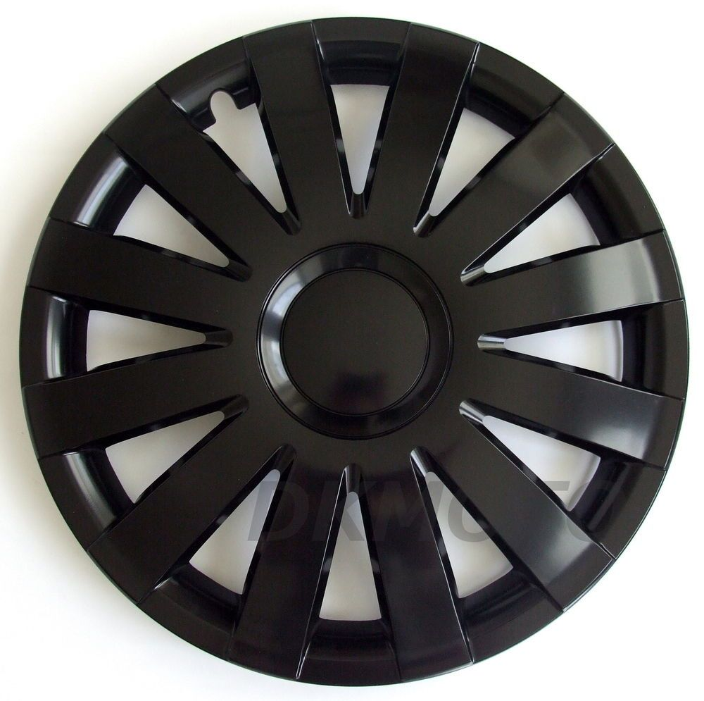 16 WHEEL TRIMS COVERS HUB CAPS fits VAUXHALL VIVARO SET OF 4 x16 black matt