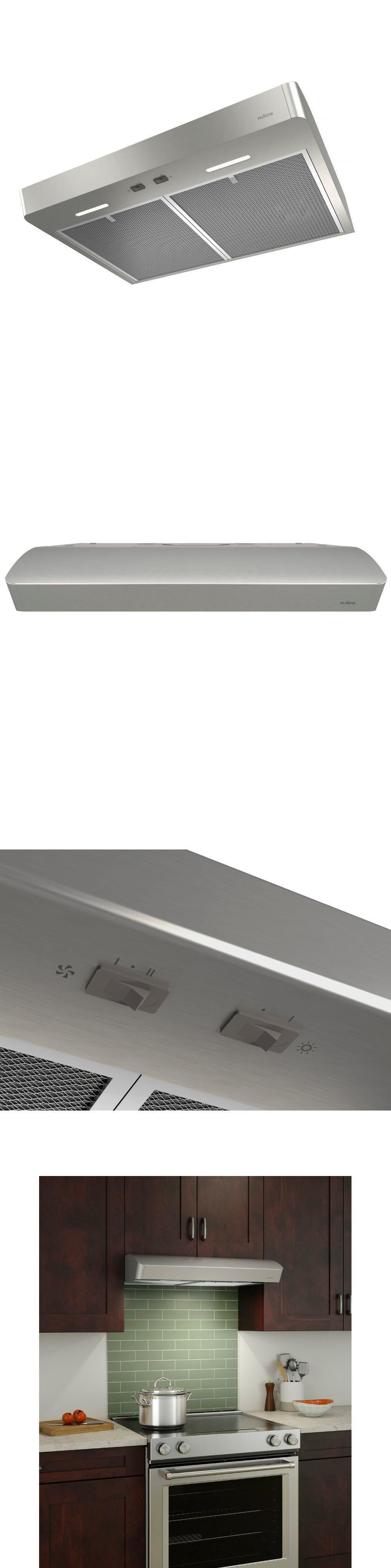 Range Hoods 71253 Nutone Convertible Range Hood Under Cabinet Kitchen 36 Inch Vent Stainless Steel Buy It Now Only 107 99 On Range Hoods Range Hood Broan