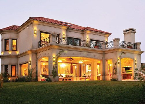 Fern ndez borda arquitectura casa 18 casas teja for Fachadas de casas estilo clasico