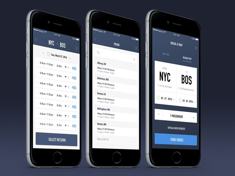 Bus booking app booking app app booking