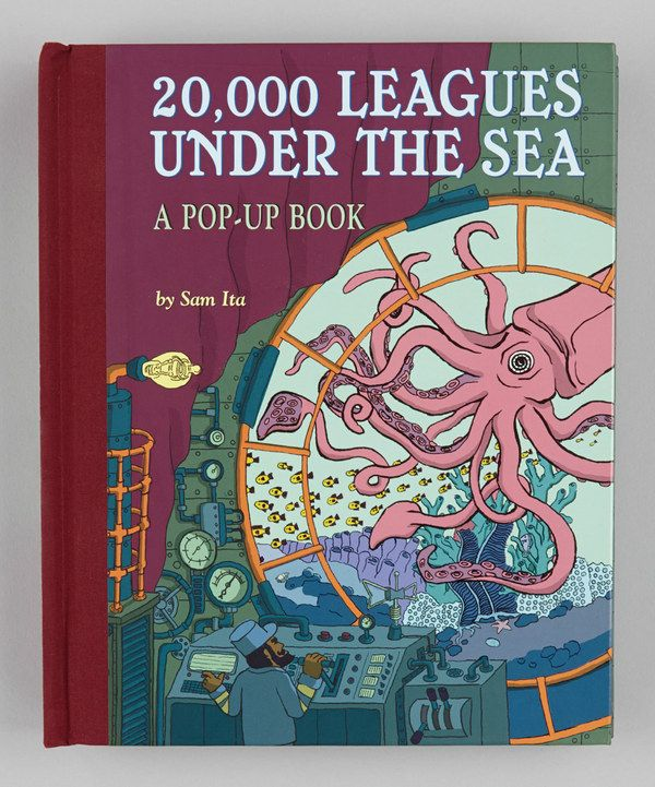 20 000 Leagues Under The Sea Pop Up Hardcover Pop Up Book Leagues Under The Sea Under The Sea