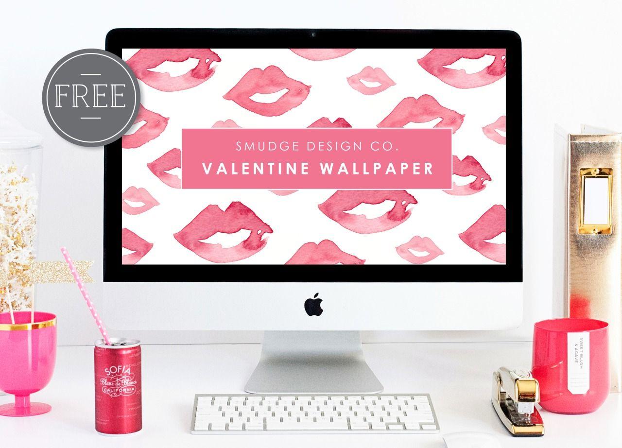 Free Valentines Day Desktop Wallpaper Freebies Pinterest Wallpaper