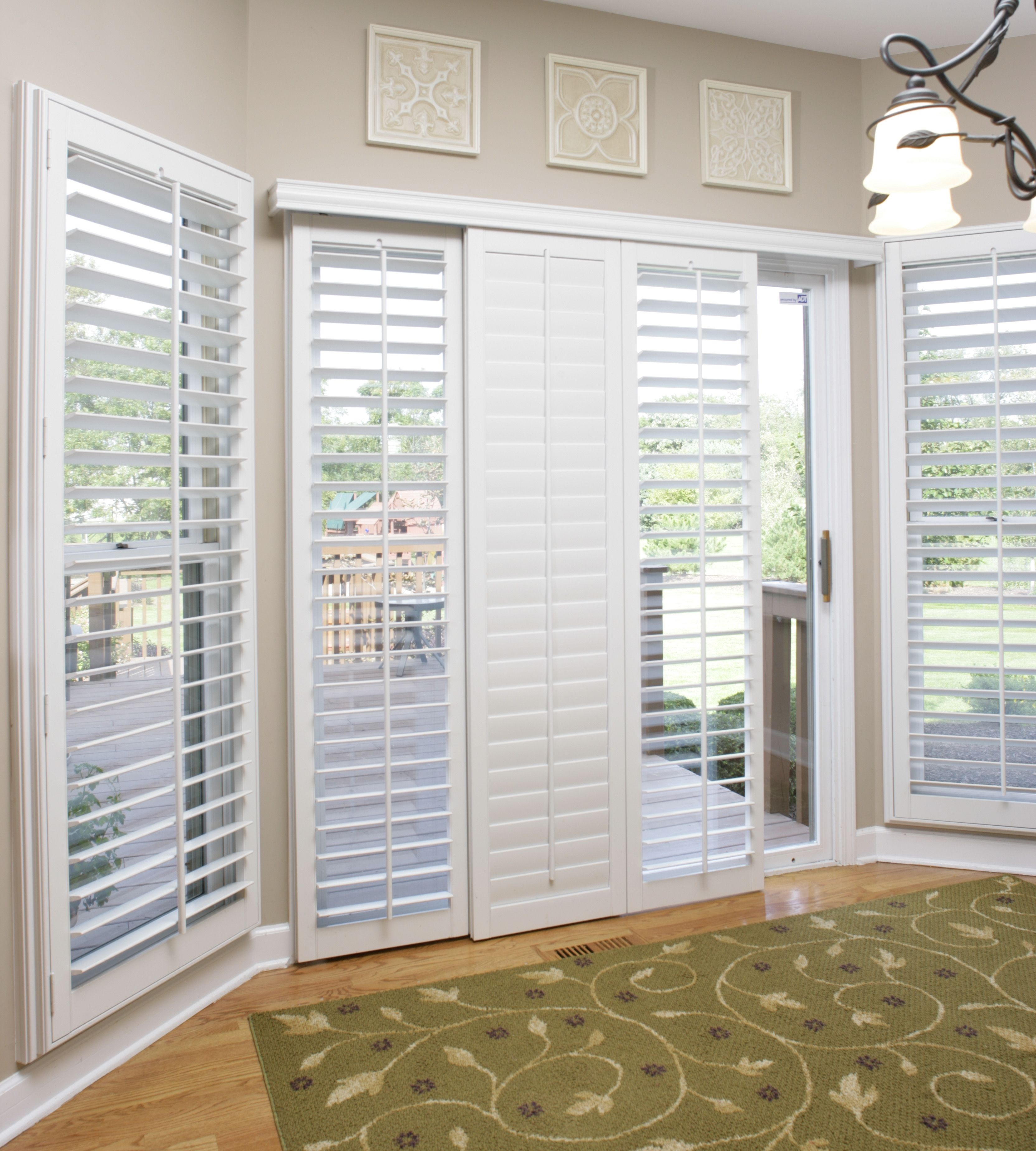 Sliding Glass Door Coverings: Problem: Too Much Light And No Privacy With Sliding Glass
