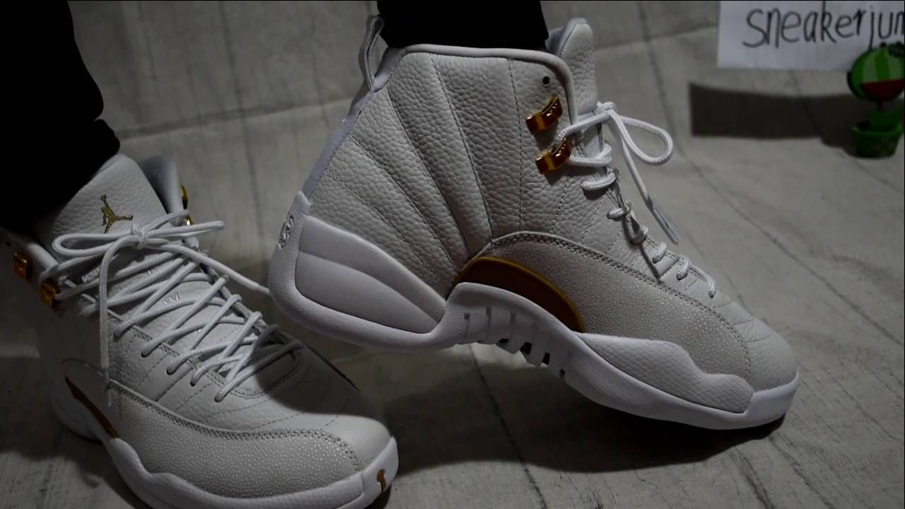 best service 47eb9 0a2c8 Authetnic Air Jordan 12 Retro ovo White on foot- sneakerjumpman   sneake.