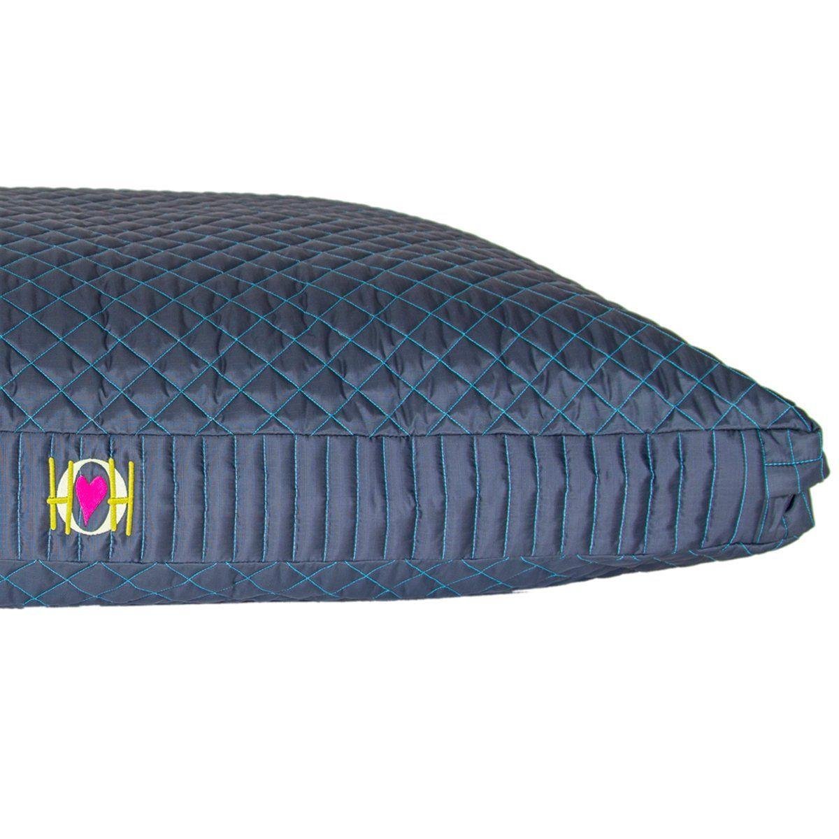 HuggleHounds Chew Resistant TuffutLuxx Bed with Waterproof