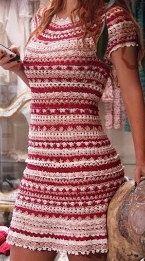 Häkelmuster Fundgrube: Kleid   Zukünftige Projekte   Pinterest ...