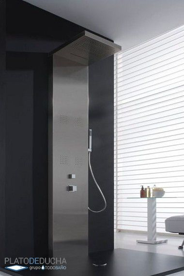Columna de ducha valencia de i five mediterr neo con - Columnas de ducha termostaticas ...