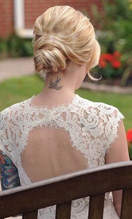 Bhldn Marivana Lace Gown Style 35575612 Wedding Dress Used