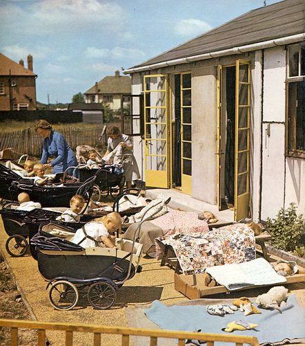 Day  Nursery, Hatfield,  June 1943