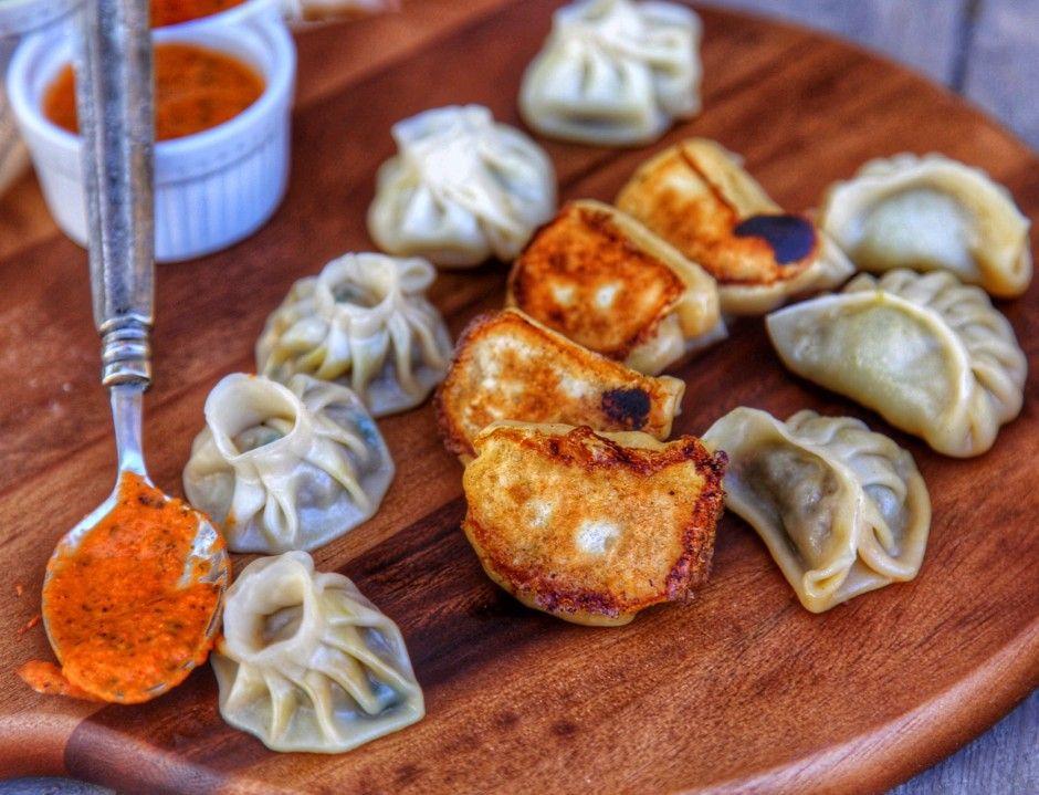 Nepali momo recipe nepalese meat dumplings appetizers sides nepali momo recipe nepalese meat dumplings forumfinder Choice Image