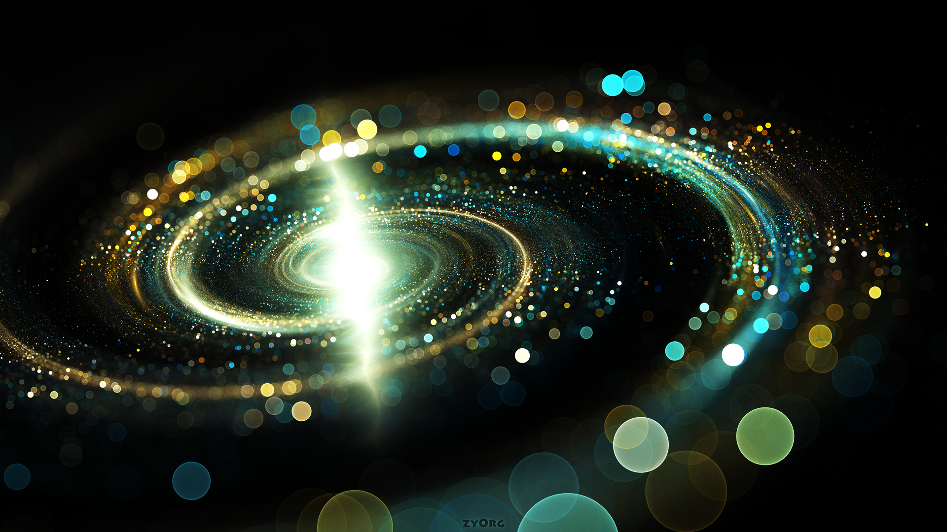 Spiral galaxy in space wallpapers and images wallpapers