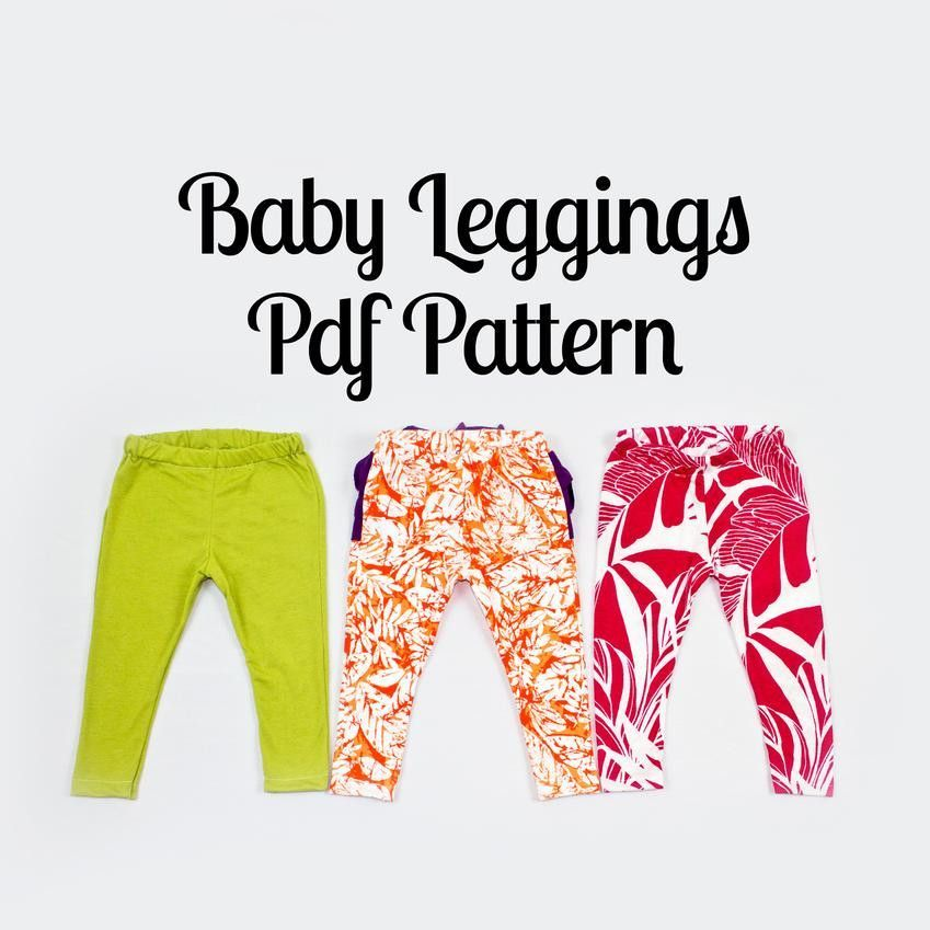 Baby Leggings Sewing Pattern   Nähen