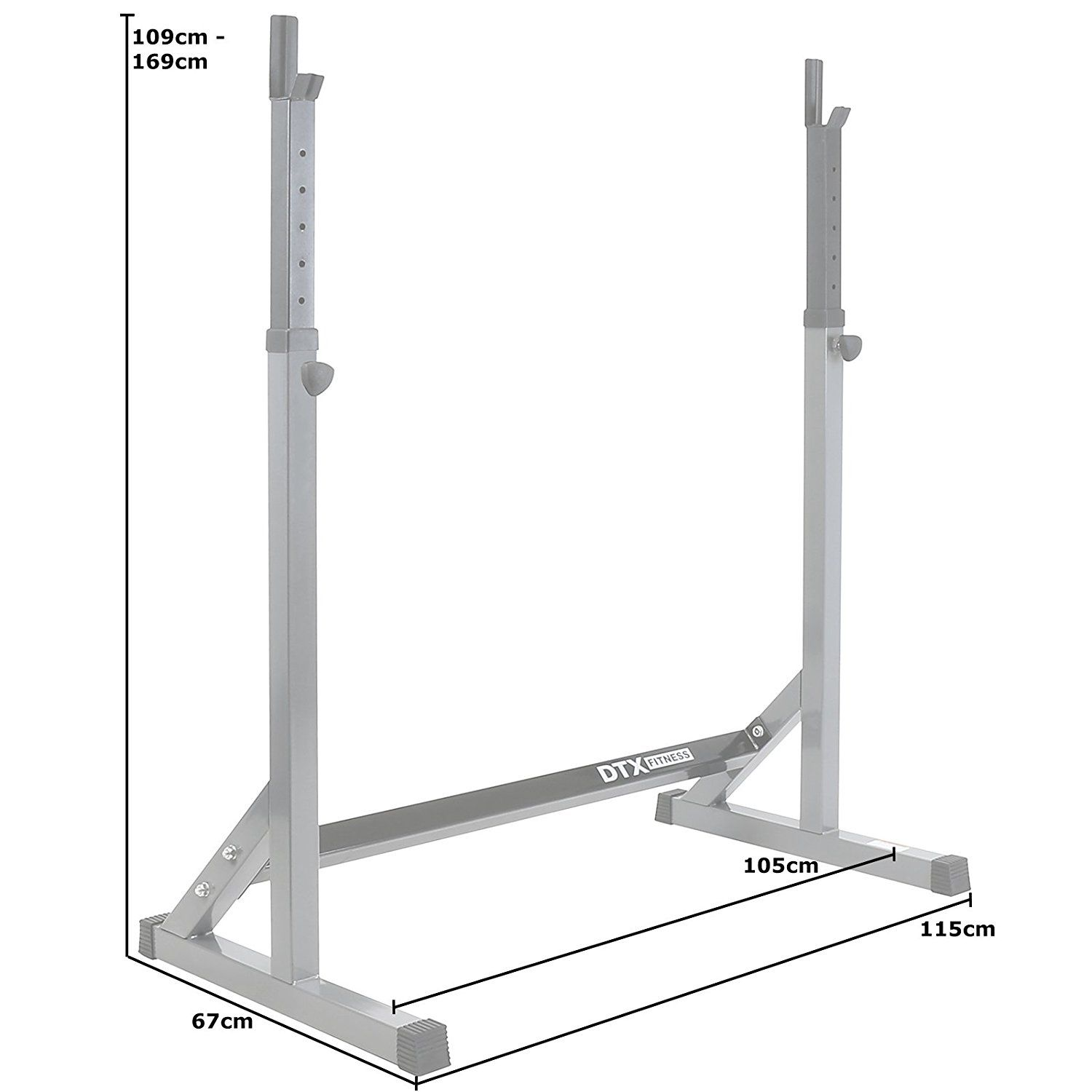 DTX Fitness Seated Row Cable Attachment with Grips