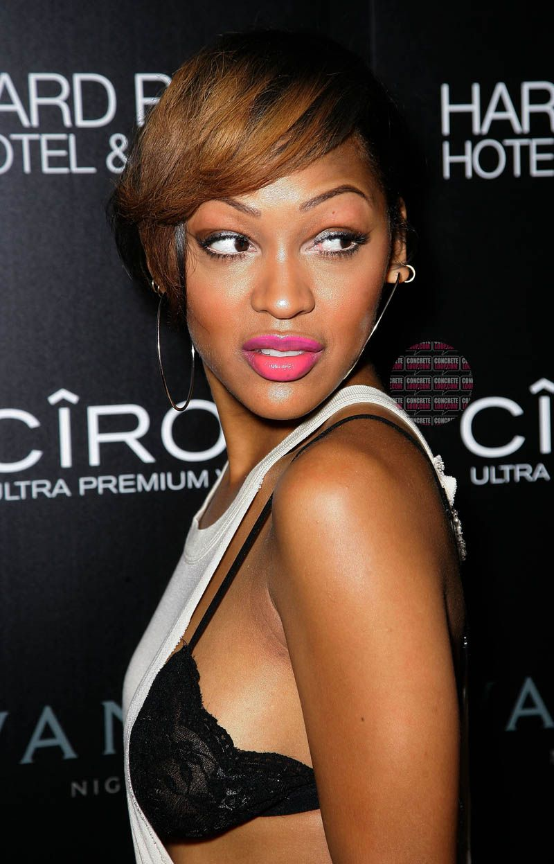 Meagan good megan good pinterest hair style short hair meagan good baditri Images