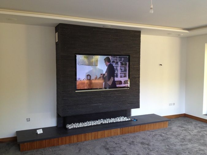 how to put tv on wall