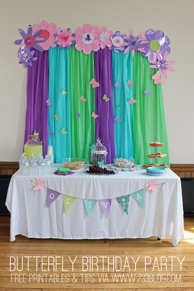 Butterfly Birthday Party Inspiration Made Simple Butterfly Birthday Party Birthday Parties Butterfly Birthday