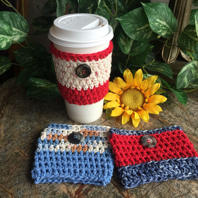 Cup Cozy Crochet Cup Sleeve Coffee Sleeve Togo Sleeve Coffee Holder Drink Sleeve Togo Cup Holder Croc Coffee Sleeve Crochet Cup Cozy Crochet Coffee Cozy