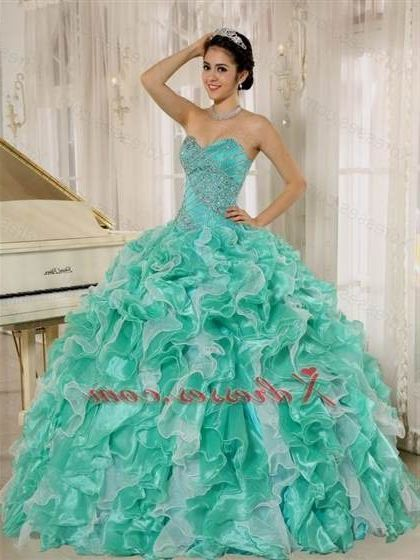 80a8e85e43d Awesome mint green quinceanera dresses 2018 2019