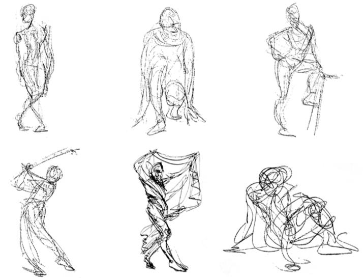 Expresin gestual en el dibujo  Gestual Expresion y Dibujo