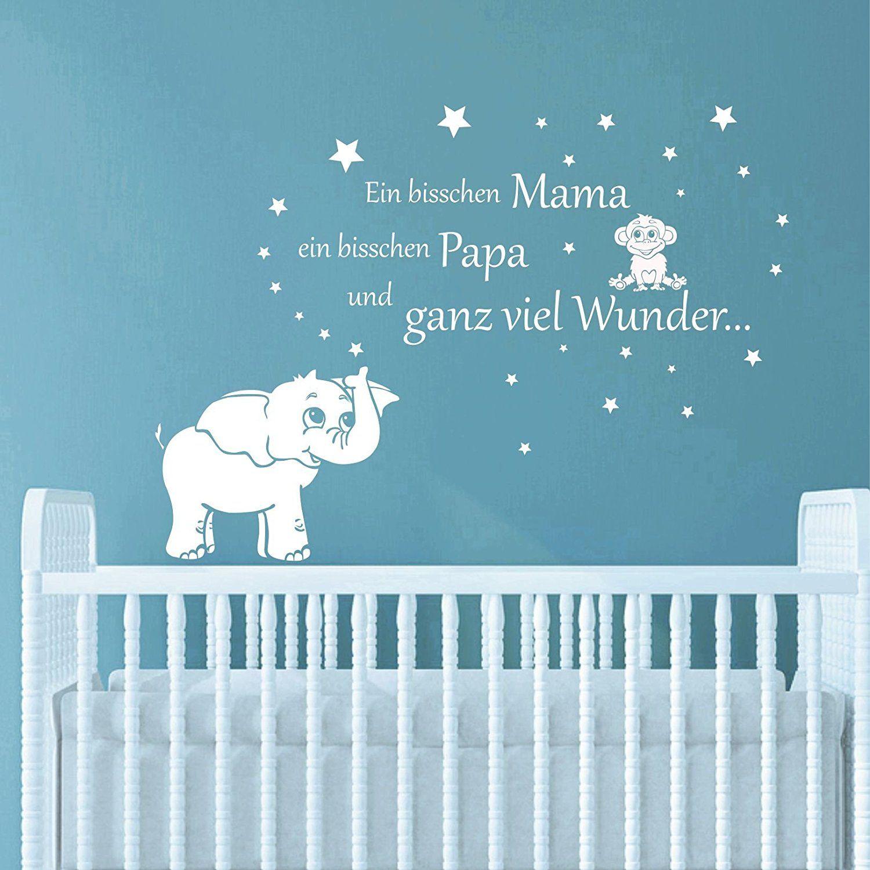 greenluup ® #Wandtattoo #Kinderzimmer zur #Geburt - ein ...