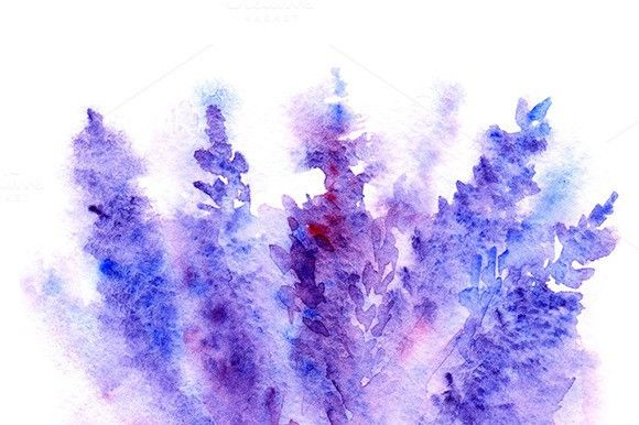 Watercolor Lavender Floral Bouquet Free Watercolor Flowers Watercolor Flower Background Watercolor Flower Art