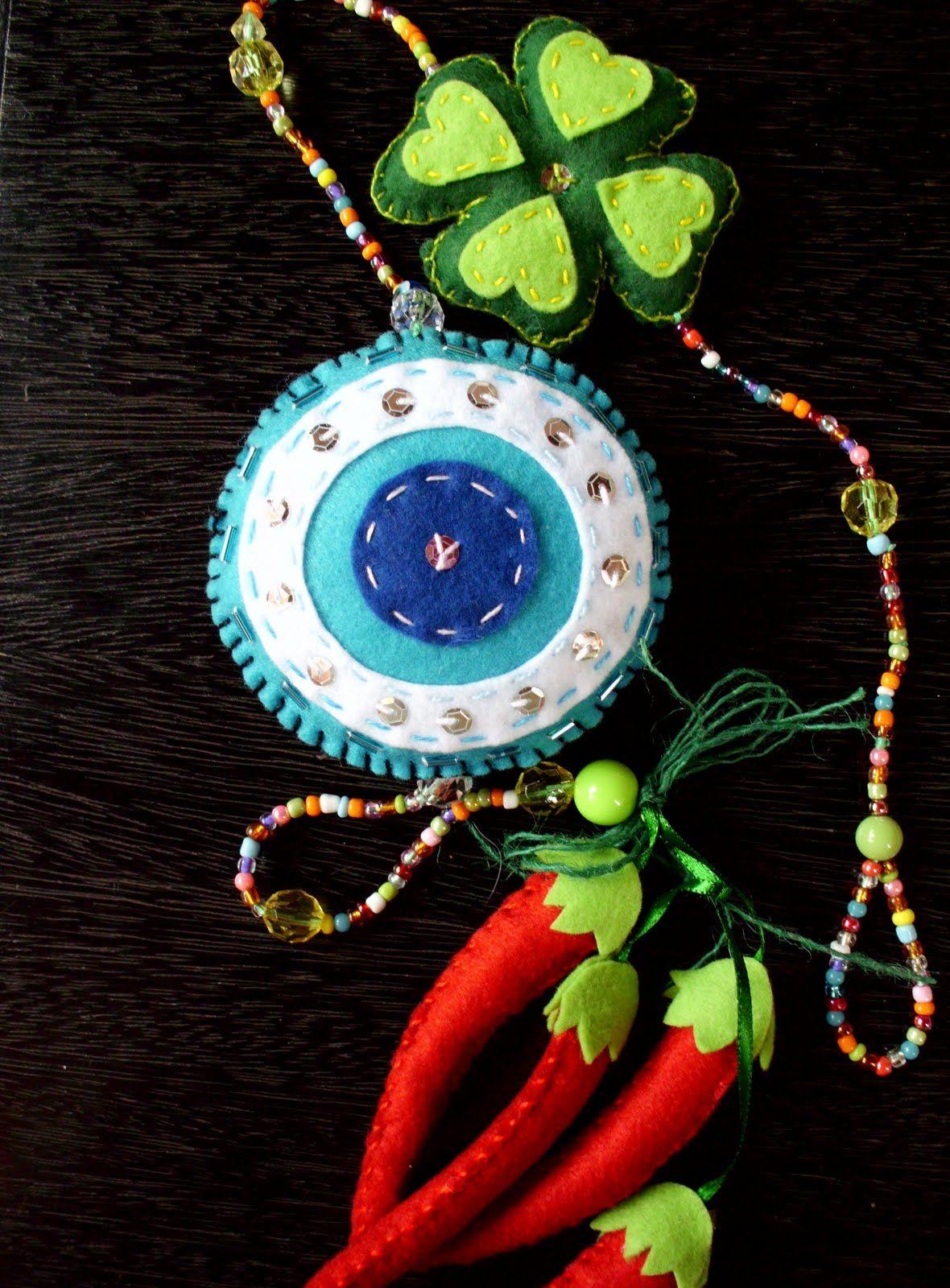 Aparador Inox Madeira ~ Donna Mina Olho grego em feltro Artesanato Pinterest Olho grego, Grego e Olho