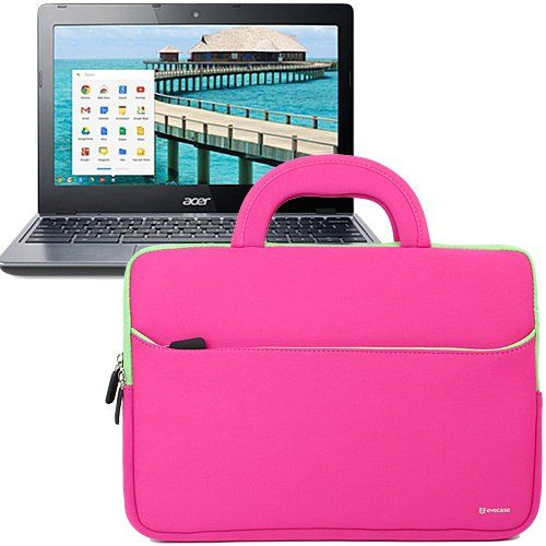 Evecase Ultraportable Neoprene Pocket Handle Carrying Sleeve Case Bag for Acer C720 / C710 / C7 11.6-Inch Chromebook - Hot Pink Evecase http://www.amazon.com/dp/B00GRMZ42Y/ref=cm_sw_r_pi_dp_JdUdub1VHET7W