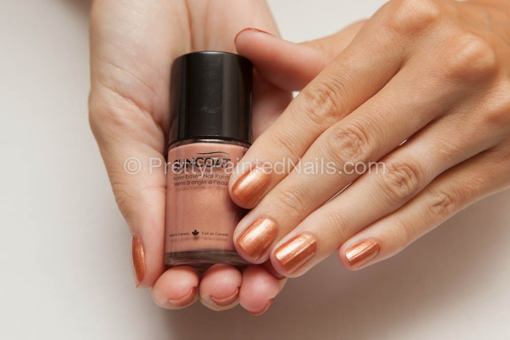 Suncoat Non Peel Off Water Based Nail Polish Swatch in Beige http ...