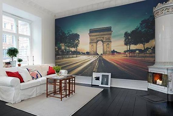 Effektvolle Wand- und Raumgestaltung mit Fototapete