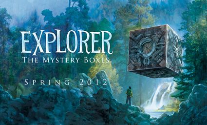 Explorer: The Mystery Boxes is a great introduction to graphic novels. Short stories,