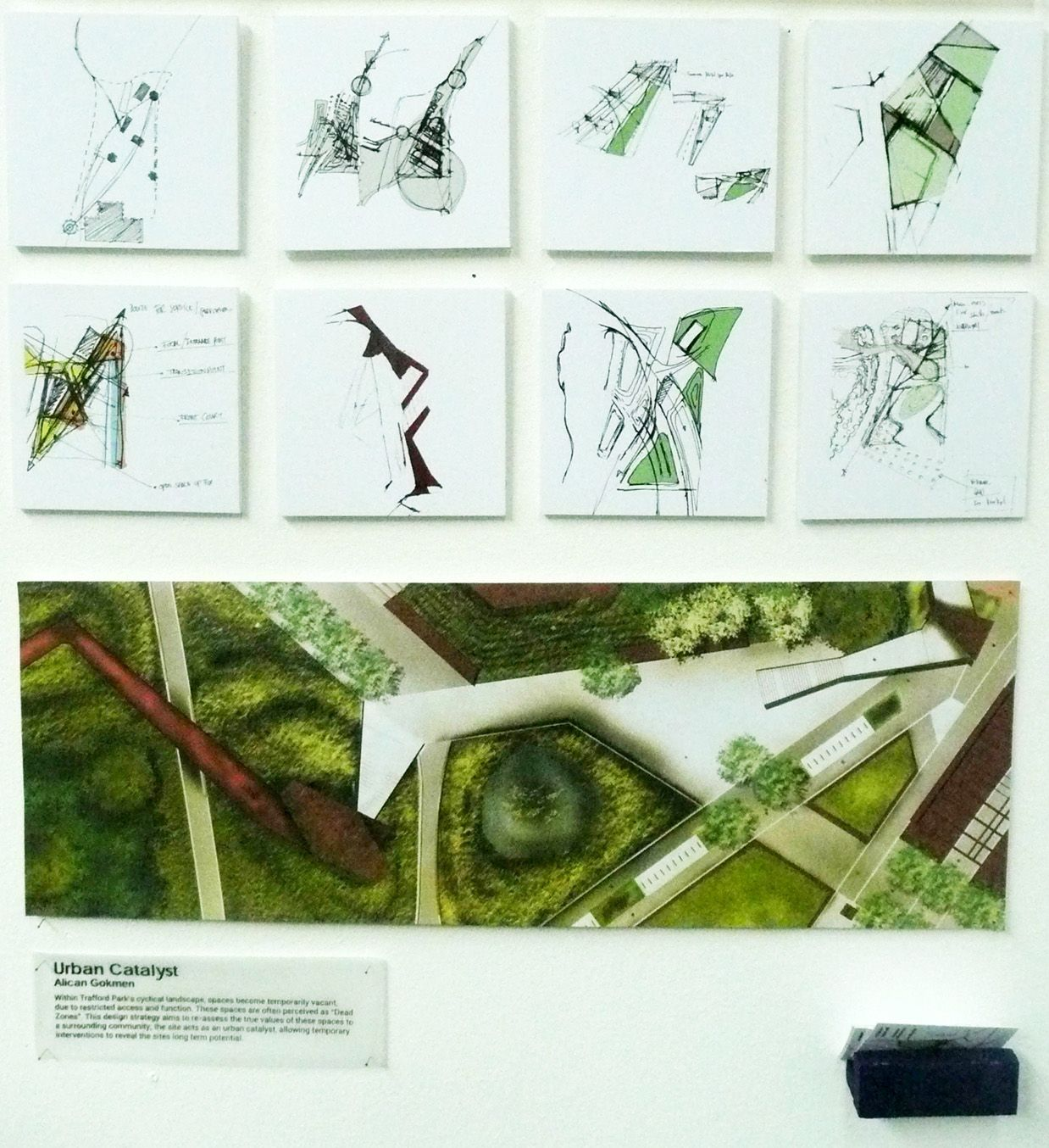 Landarch Mmu: U201c A Selection Of The Boards From This Years Landscape  Architecture Degree Show In June.