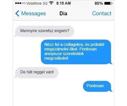 flörtölős idézetek 10 flörtölős üzenet, ahol valaki csúnyán beégett | Világunk.hu