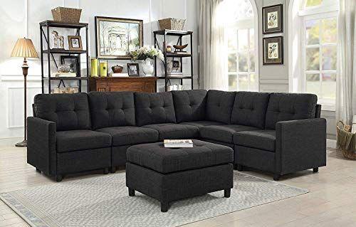 Best Seller Dazone Modular Sectional Sofa Assemble 7 Piece Modular