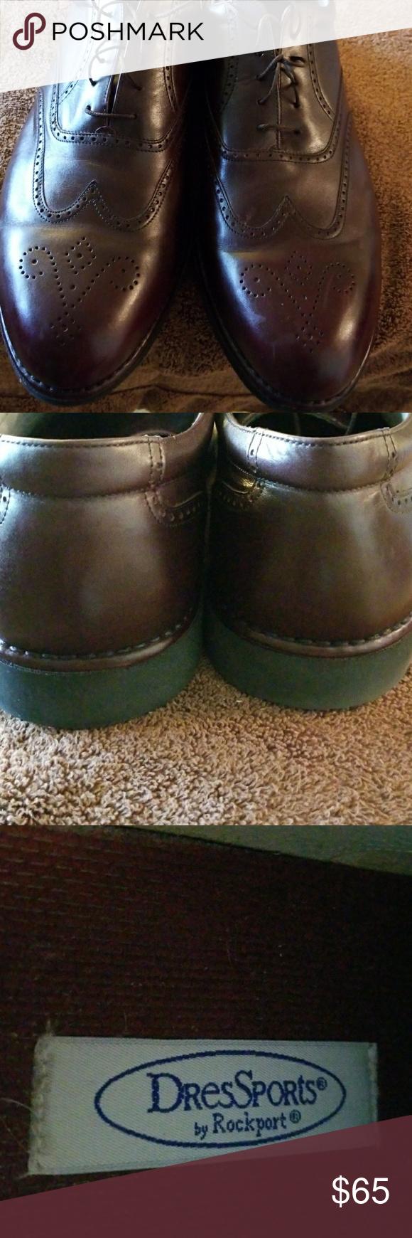 DresSports Size 15W GUC... Rockport Comfort... Great Dress Shoe Rockport Shoes Oxfords & Derbys