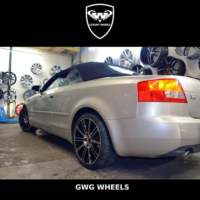 AUDI A With Flow Black With Machined Face HappyHoliday Gwgwheels - Flow audi