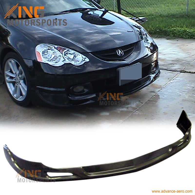 For Acura RSX Type Sport PU Front Bumper Lip Spoiler - 2002 acura rsx front bumper