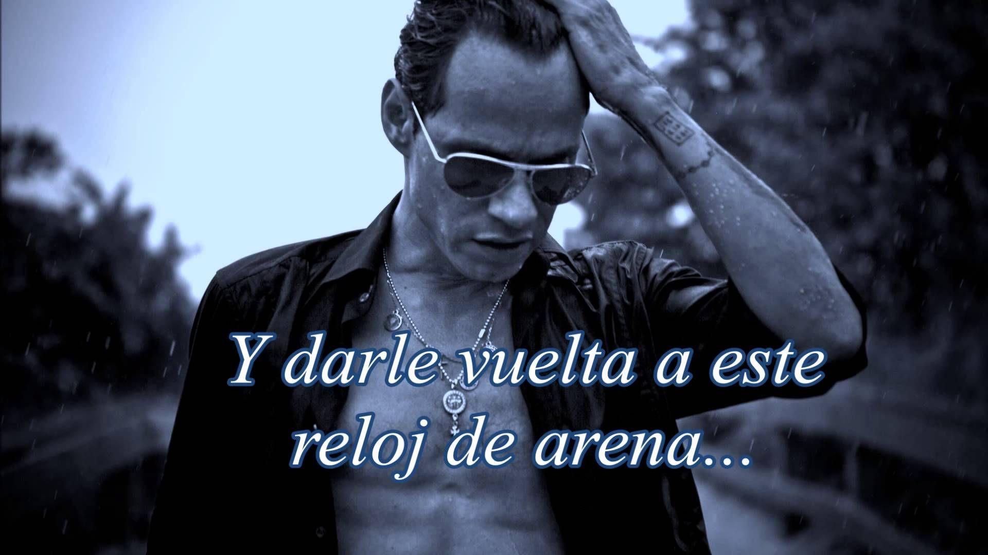 Marc Anthony Espera Lyrics Letas ᴴᴰ Romantic Music Marc Anthony Salsa Music