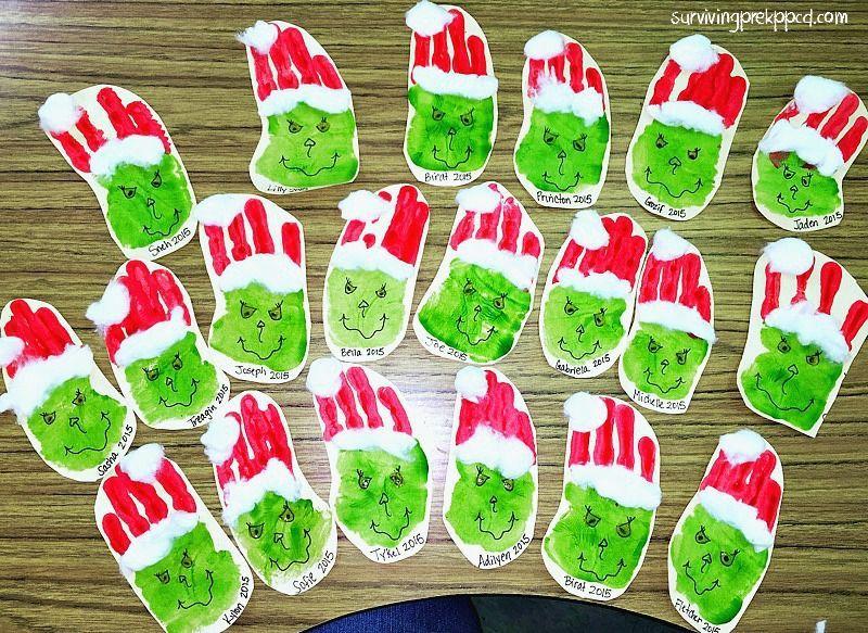 18++ Christmas party crafts for kindergarten information