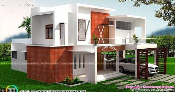 2605 Sq Ft Modern House Plan Architecture House House Plans