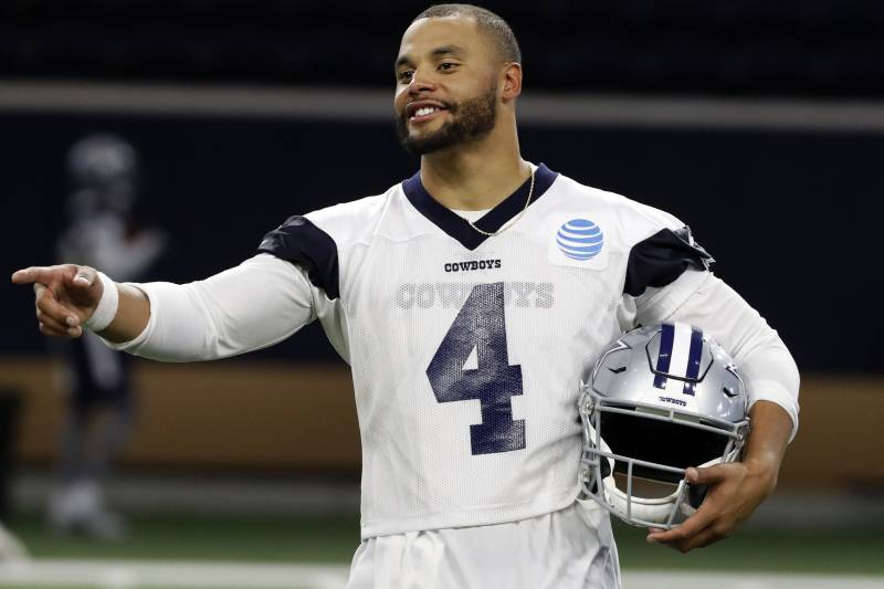 Cowboys Rumors Dak Prescott's Reps Have 'Broached