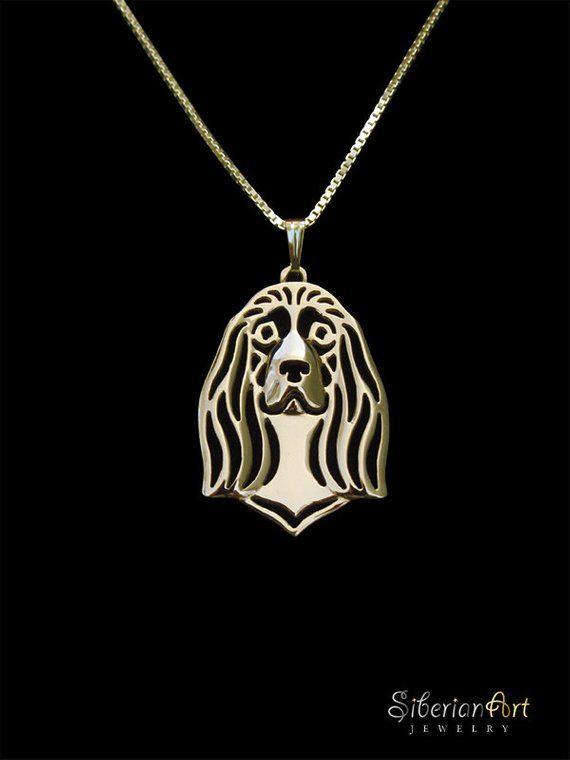 Sussex Spaniel Jewelry Sussex Spaniel Pendant