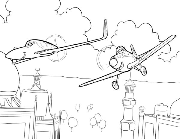Pin On Disney Planes Coloring Pages