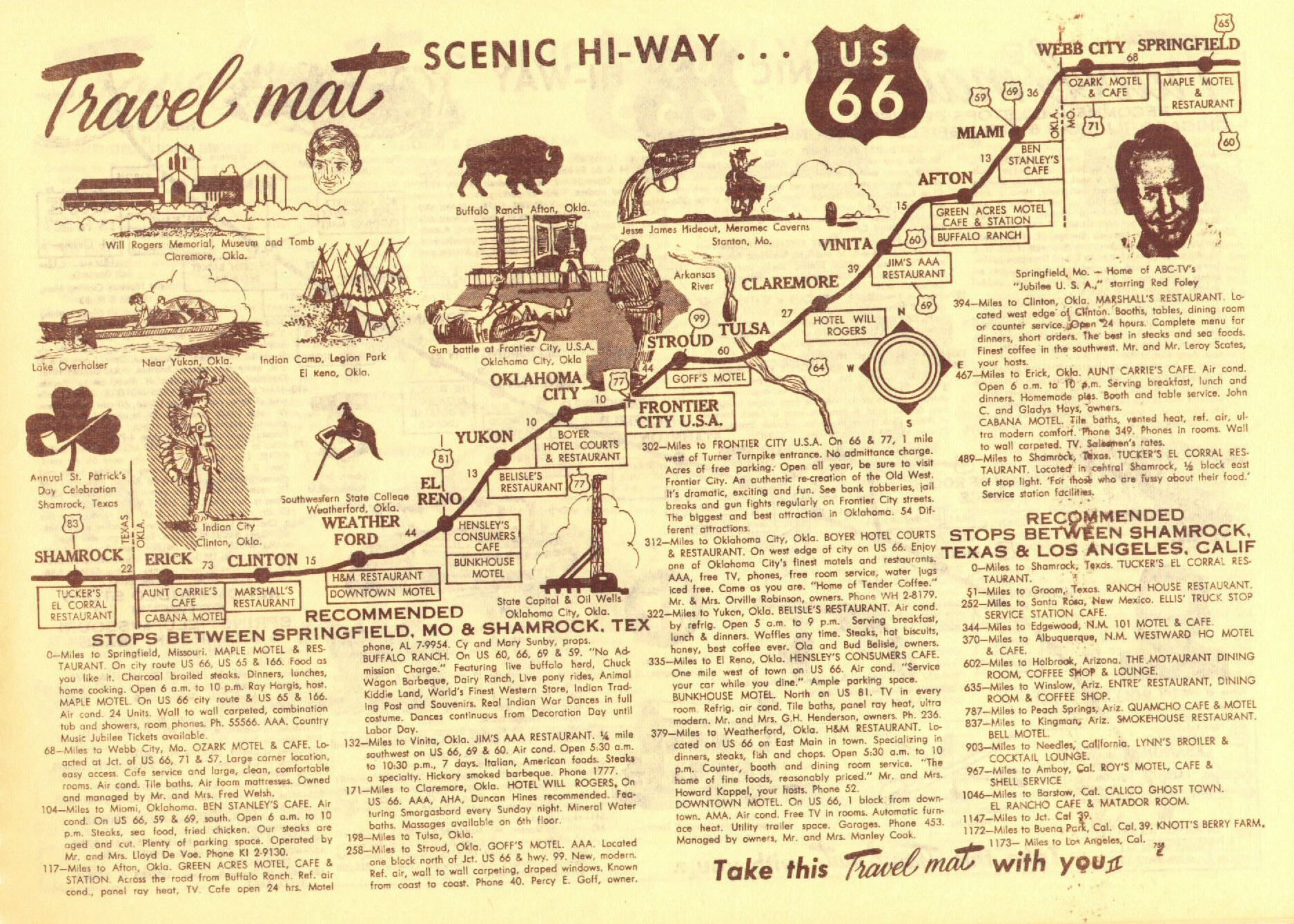 Route 66 – Travel Route 66 Map